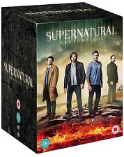 SUPERNATURAL COMPLETE SEASON 1-12 DVD BOXSET R4 Aus Post Express!