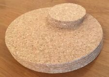 Round Cork Placemats & Coasters Set of 6