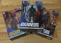 Gi joe Classified Series Snake Eyes, Cobra Commander And Profit Director Destro