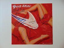 """Great White"" Group Signed Album Flat Todd Mueller COA"