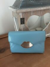 LULU GUINNESS. vintage..sailor Boy Blue/baby Blue Purse/wallet