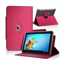 Housse Etui Universel L couleur Rose fushia pour Tablette Archos Elements 97 Car