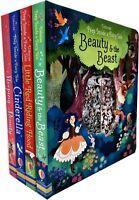 Anna Milbourne Peep Inside a Fairy Tale Collection 4 Books Set Sleeping Beauty