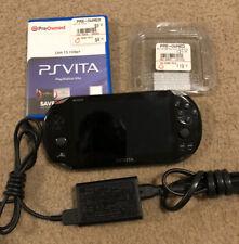 Sony PS Vita Slim PCH-2001 Handheld Console w/ OEM 8GB Memory Card, Unit 13 Game