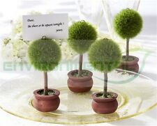 Home Tabel Restaurant Message Card Holder Plastic Artificial Plants Decor QTY 1