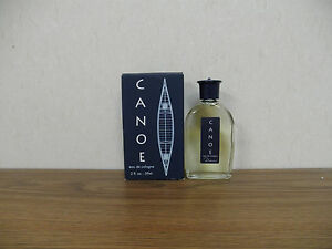 Canoe Eau De Cologne Splash 2oz 59mL Canoe Themed Box and Bottle