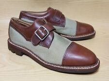 Johnston & Murphy Passport Monk Buckle Cap Toe Mens Shoes 10 M