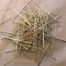50 Clous Tiges à tête plate  6cm x 0.7mm