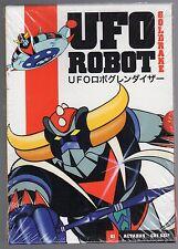 dvd GOLDRAKE UFO ROBOT numero 01 ACTARUS... CHI SEI? (Versione rossa)
