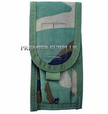 Genuine US Army Woodland BDU Camo Molle M4 2 Mag Pouch, NEW