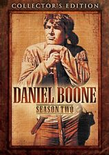 DANIEL BOONE SEASON TWO 2 New Sealed 6 DVD Set Collector's Edition