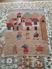 Vintage Mexican Wall Tapestry/Area Rug