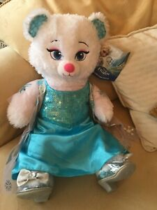 Brand new build a bear Disney Elsa with beautiful dress