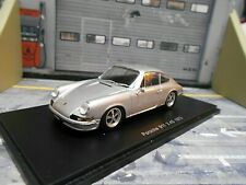 PORSCHE 911 Coupe 2.4S 2.4 S F-Modell silber 1973 Diecast Spark 1:43