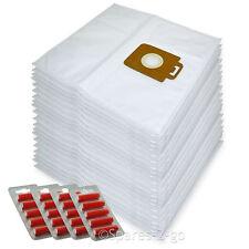 20 x Cloth Vacuum Bags For Nilfisk Allergy Plus Hoover Bag + Fresh