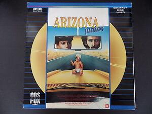 Laserdiscs, Arizona Junior, Very Good Condition Complete