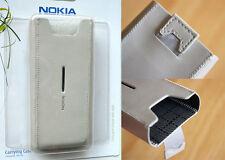 Funda para Nokia N8 y C7 PIEL Blanca CP-503