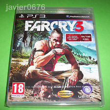 FAR CRY 3 NUEVO Y PRECINTADO PAL ESPAÑA PLAYSTATION 3