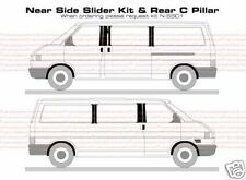 VW T4 Transporteur B & C Pillar Decal Autocollant