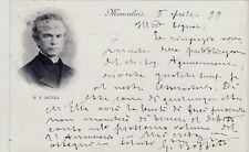 #MONCALIERI: P.F. DENZA- OSSERVATORIO R. COLLEGIO CARLO ALBERTO- 1899