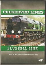 PRESERVED LINES BLUEBELL LINE DVD A NOSTALGIC LOOK AT THE PRESERVED LINES