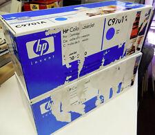 HP C9701A Cyan NEW GENUINE Toner Cartridge SEALED 1500 2500tn  1500L  UGLY BOX!