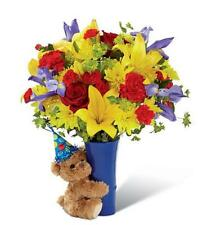 Big Hug® Birthday Bouquet Delivered by a Florist