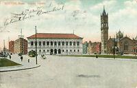 Postcard Copley Square, Boston, MA