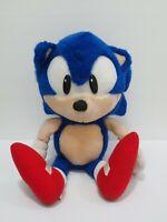 "Sonic The Hedgehog SEGA 1993 Plush 16"" Stuffed Toy Doll Japan Rare"