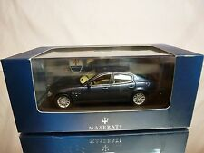 IXO MODELS MOC038 MASERATI QUATTROPORTE - BLUE METALLIC 1:43 - EXCELLENT IN BOX