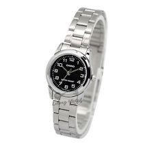 -Casio LTPV001D-1B Ladies' Metal Fashion Watch New & 100% Authentic