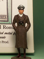 Toy Soldiers-World War Two-WW 2-German Army Infantry Officer-Erwin Rommel