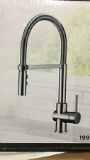 Delta Felix Arctic Stainless 1-Handle Pull Down Kitchen Faucet