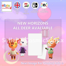 All Deer Animal Crossing Custom NFC Amiibo Compatible Card New Horizons