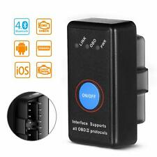OBD2 Auto Diagnostic Scanner - Bluetooth Vehicle Engine Fault Code Reader