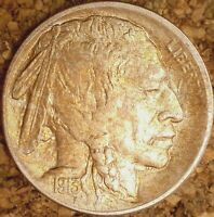 1913-P Buffalo Nickel (Type-2) - BEAUTIFUL MS++ with OBV CLASHES/ROT REV (M025)