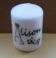 Name  Personalised Candle  Birthday /Party/ Gift  Gift Wrapped