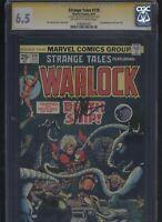 Strange Tales #179 CGC 6.5 SS Jim Starlin 1975 1st appearance PIP THE TROLL