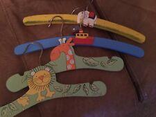 childrens coat hangers wooden