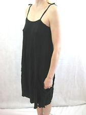 Vigorella  One Size Black Casual Dress