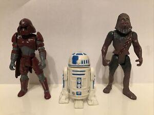 Star Wars Bootleg Action Figures Chewbacca R2-D2 Luke Skywalker Imperial Guard