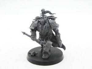 (7464) Chaos Lord Blackstone Chaos Space Marines 40k 30k Warhammer