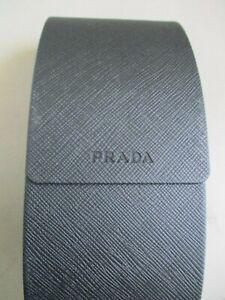 Prada Eyeglasses Sunglasses Hard Magnetic Close Case Black