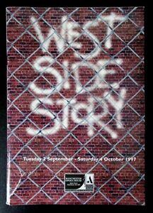 West Side Story programme Manchester Opera House 1997 David Habbin Alex Harkins