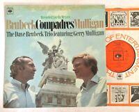 DAVE BRUBECK TRIO / GERRY MULLIGAN - Compadres 1968 Jazz Vinyl LP  CBS 63395
