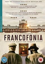FRANCOFONIA (An Elegy For Europe) di Alexander Sokurov DVD in Russo NEW .cp
