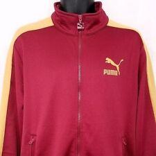 Puma Archive T7 Hombre PISTA 68 Chaqueta 572658 45 ORO ROJO TALLA 2xl NUEVO