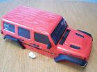 Axial SCX10 III Jeep JLU Wrangler Orange Body Interior Cage LED Lights **DEFECT*