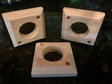 Cedar Predator Guard for Birdhouse Bird House Bluebird Chickadee Finch 4 Pack!!!