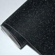 GLITTER BLACK matt Vinyl Wrap Sheet Car Vinyl Wrapping Air Bubble Free